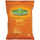 Gwoon tortilla chips nacho cheese