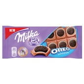 Milka chocolade tablet oreo sandwich