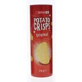 Spar potato crisps naturel