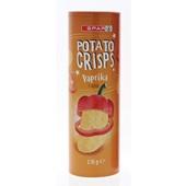 Spar potato crisps paprika