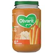 Olvarit baby/peuter maaltijd wortel kip en rijst