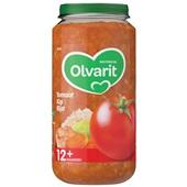Olvarit baby/peuter maaltijd tomaat kip en rijst