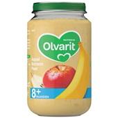 Olvarit baby/peuter fruithapje appel, banaan en peer