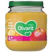Olvarit baby/peuter fruithapje appel, mango en banaan