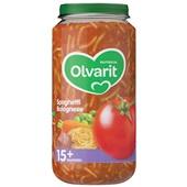 Olvarit baby/peuter maaltijd spaghetti bolognese
