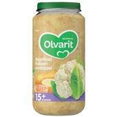 Olvarit baby/peuter maaltijd bloemkool, kalkoen en aardappel