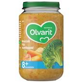 Olvarit baby/peuter maaltijd broccoli, kip en aardappel