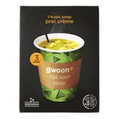 Gwoon 1-kops  soep prei crème