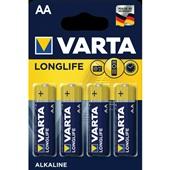 Varta longlife batterijen AA