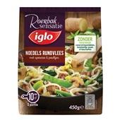 Iglo roerbak sensatie noodles met rundvlees