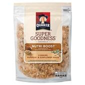 Quaker granola nutri boost seeds
