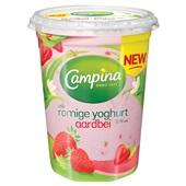 Campina romige yoghurt aardbei