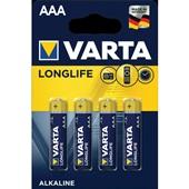 Varta batterijen AAA longlife