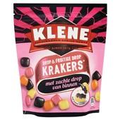 Klene Krakers Drop en fruitige drop