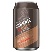Johnnie Walker whisky cola