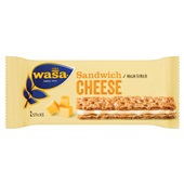Wasa sandwich cheese voorkant