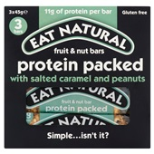 Eat Natural protein reep protein packed salted caramel