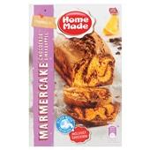 Home Made bakmix marmercake chocolade sinaasappel