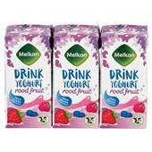 Melkan drink yoghurt rood fruit