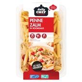 Daily Chef pasta penne zalm