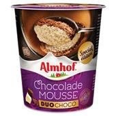 Almhof chocolademousse duo