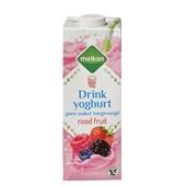 Melkan drinkyoghurt rode vrucht light