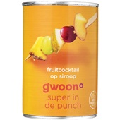 Gwoon fruitcocktail op siroop
