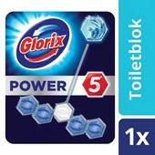Glorix power 5 toiletblok ocean achterkant