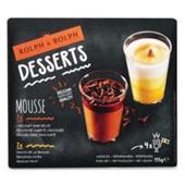 Rolph en Rolph mini desserts Belgische zwarte chocolade & passievrucht