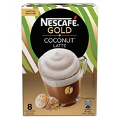 Nescafé coconut latte gold
