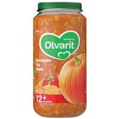 Olvarit baby/peuter maaltijd pompoen kip en pasta