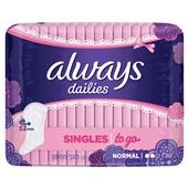 Always dailies singles to go inlegkruisjes normaal
