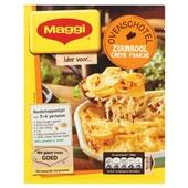 Maggi maaltijdmix   zuurkoolschotel creme fraiche