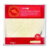 Spar Wraps Flour Tortilla