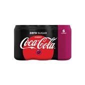 Coca Cola zero cherry 6x33cl