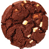 American cookie triple chocolate