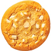 American cookie witte chocolade - macadamia