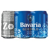Bavaria Pils Blik 6 -Pack  Cool voorkant