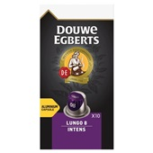 Douwe Egberts Aroma Rood Koffiecapsules Lungo Intense