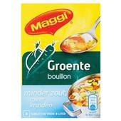 Maggi Bouillon Blok Groente Minder Zout