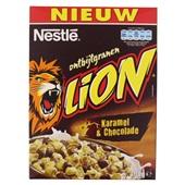 Nestle Lion ontbijtgranen karamel & chocolade