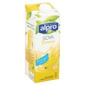 Alpro Soya Drink Banaan achterkant