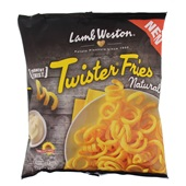Lamb Weston Twister Fries naturel