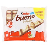 Kinder Bueno Chocolade White 3-Pack