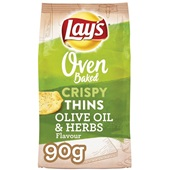 Lay's Oven Chips Crunchy Thins Olive Oil & Herbs