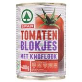 Spar Tomatenblokjes Knoflook