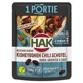 Hak portieverpakking kidneybonen chili