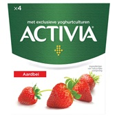 Activia yoghurt  aardbei