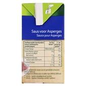 Knorr Aspergesaus in pak achterkant