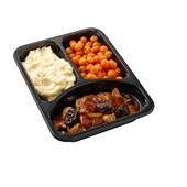 Culivers (100) kip op Brabantse wijze met Parijse worteltjes en aardappelpuree zoutarm achterkant